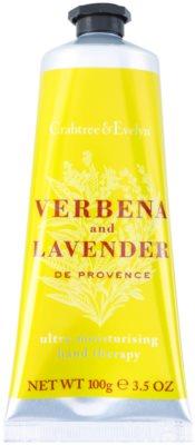 Crabtree & Evelyn Verbena & Lavender Feuchtigkeitscreme für die Hände