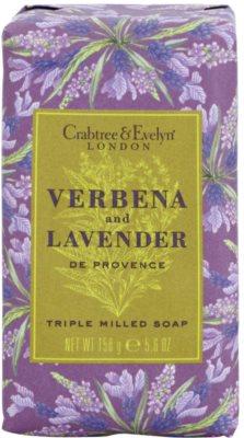 Crabtree & Evelyn Verbena & Lavender hydratační a osvěžující mýdlo