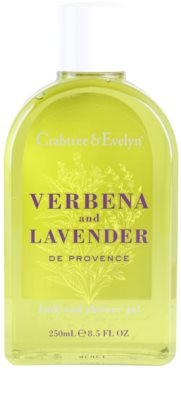 Crabtree & Evelyn Verbena & Lavender gel de ducha y para baño