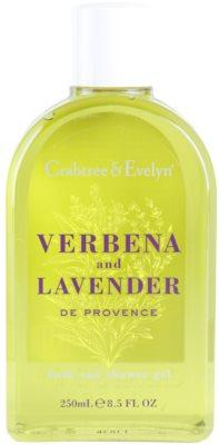 Crabtree & Evelyn Verbena & Lavender gel de duche e banho
