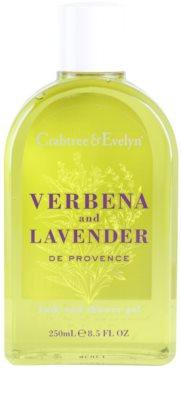 Crabtree & Evelyn Verbena & Lavender gel za prhanje in kopanje