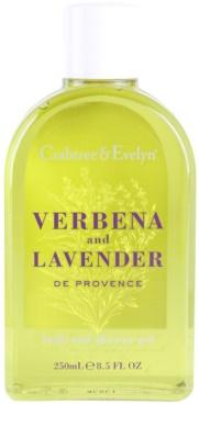 Crabtree & Evelyn Verbena & Lavender sprchový a kúpeľový gél