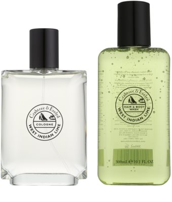 Crabtree & Evelyn West Indian Lime Geschenkset 1