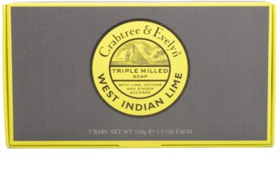 Crabtree & Evelyn West Indian Lime jabón sólido 2