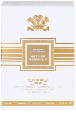 Creed Acqua Originale Vetiver Geranium woda perfumowana dla mężczyzn 4