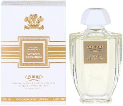 Creed Acqua Originale Vetiver Geranium eau de parfum para hombre