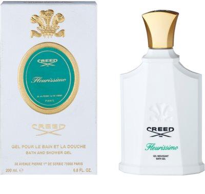 Creed Fleurissimo gel de dus pentru femei