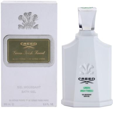 Creed Green Irish Tweed gel de duche para homens