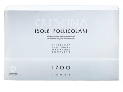 Crescina HAIR FOLLICULAR ISLANDS 1700 ampułka z początkującym i zaawansowanym rzędnięciem włosów dla kobiet 2