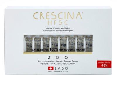 Crescina HFSC 200 Ampullen gegen beginnenden Haarausfall für Damen 2