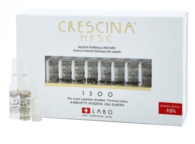 Crescina HFSC 1300 ampułki na zaawansowane przerzedzanie włosów dla mężczyzn