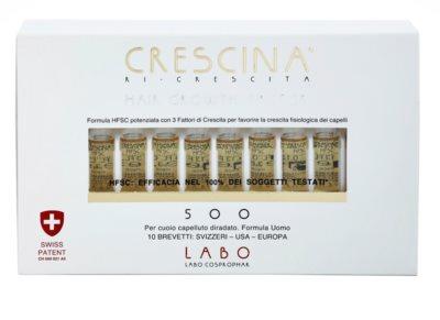 Crescina HAIR GROWTH FACTOR 500 ampule proti srednjemu redčenju las 2