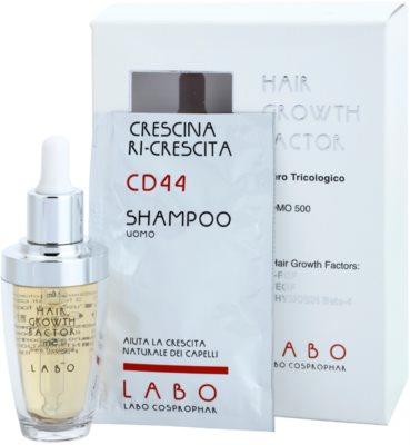 Crescina HAIR GROWTH FACTOR 500 serum proti izpadanju las z rastnim aktivatorjem za moške 2