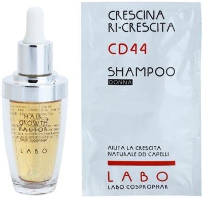 Crescina HAIR GROWTH FACTOR 500 serum proti izpadanju las z rastnim aktivatorjem za ženske 1