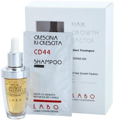 Crescina HAIR GROWTH FACTOR 500 serum proti izpadanju las z rastnim aktivatorjem za ženske 2