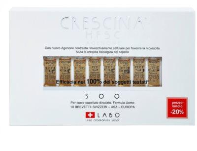 Crescina HFSC AGENONE 500 ампули при помірній алопеції для чоловіків 2