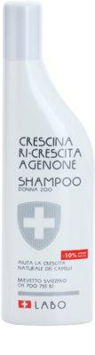 Crescina Re-Growth Agenone 200 champô contra a queda de cabelo inicial para mulheres