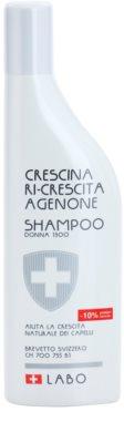 Crescina Re-Growth Agenone 1300 champú para la caída del cabello severa para mujer