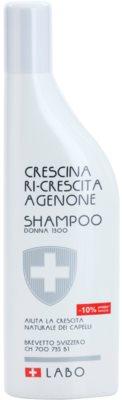 Crescina Re-Growth Agenone 1300 Sampon a kezdeti ritkuló hajra hölgyeknek