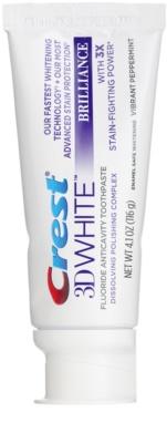 Crest 3D White Brilliance dentífrico para dentes brancos radiantes