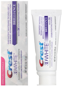 Crest 3D White Brilliance Toothpaste For Pearly White Teeth 1
