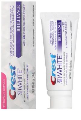 Crest 3D White Brilliance Zahnpasta für strahlende Zähne 1
