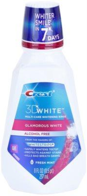 Crest 3D White Glamorous White elixir bocal com efeito branqueador