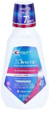 Crest 3D White Glamorous White Mundwasser mit bleichender Wirkung