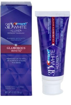 Crest 3D White Glamorous White pasta de dientes 1