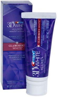 Crest 3D White Glamorous White pasta de dientes 3