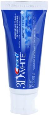 Crest 3D White Arctic Fresh fogkrém a csillogó fogakra és a friss leheletért