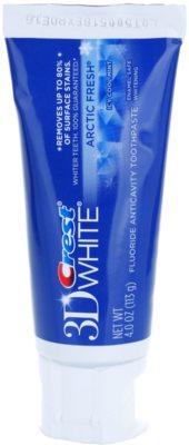 Crest 3D White Arctic Fresh pasta para dentes brancos e hálito fresco