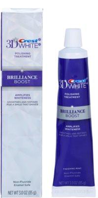 Crest 3D White Brilliance Boost dentífrico branqueador para sorriso brilhante 1