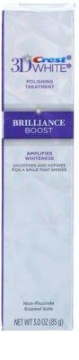 Crest 3D White Brilliance Boost pasta de dientes blanqueadora para una sonrisa radiante 2