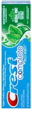 Crest Complete Herbal Mint Whitening+ pasta do zębów o działaniu wybielającym 2