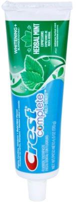Crest Complete Herbal Mint Whitening+ pasta de dinti cu efect de albire