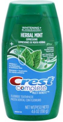 Crest Complete Herbal Mint Whitening+ żel do zębów
