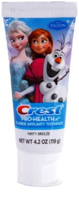 Crest Pro-Health Jr. Disney Frozen pasta de dentes para crianças para reforçar o esmalte dentário