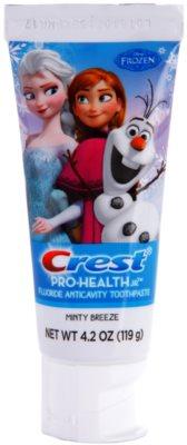 Crest Pro-Health Jr. Disney Frozen pasta de dientes para niños para fortalecer el esmalte dental