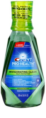 Crest Pro-Health Invigorating Clean elixir bucal antiplaca e gengivites