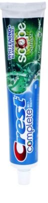 Crest Complete Scope Whitening+ Outlast fehérítő fogkrém a friss leheletért