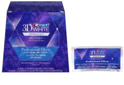 Crest 3D White Whitestrips Luxe Professional Effects відбілюючі смужки для зубів для білосніжних зубів