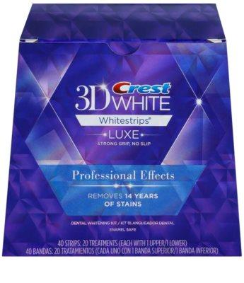 Crest 3D White Whitestrips Luxe Professional Effects відбілюючі смужки для зубів для білосніжних зубів 3