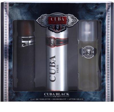 Cuba Black ajándékszettek