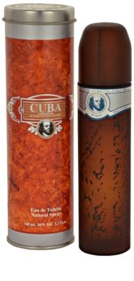 Cuba Blue eau de toilette férfiaknak