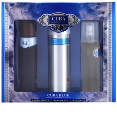 Cuba Blue coffrets presente