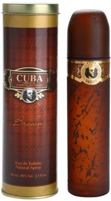 Cuba Brown Eau de Toilette pentru barbati