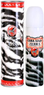 Cuba Jungle Zebra parfumska voda za ženske