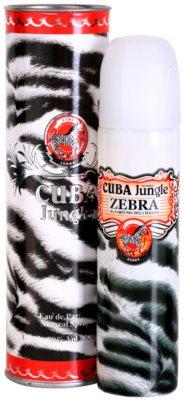 Cuba Jungle Zebra eau de parfum para mujer 1