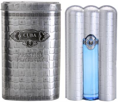 Cuba Prestige Platinum toaletna voda za moške